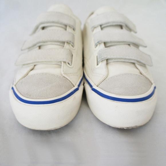 22927d23453e Vans Shoes - Vans Prison Issue 23V Velcro Sneakers OffWhite 9.5
